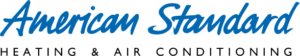 American Standard Logo with blue text.